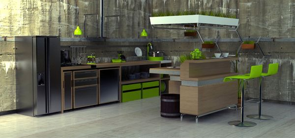 Kitchen Garden Concept