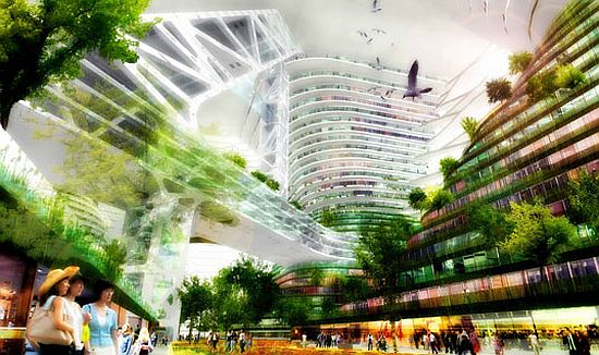 logistic city in china by jds architects 2