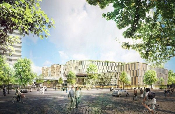 Main Hospital of Copenhagen  by 3XN