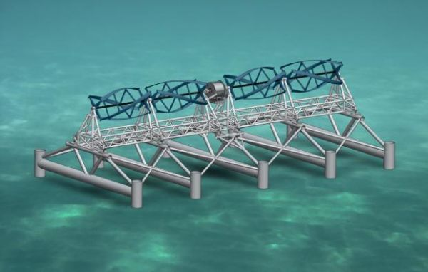 marine homes to be powered by wave energy