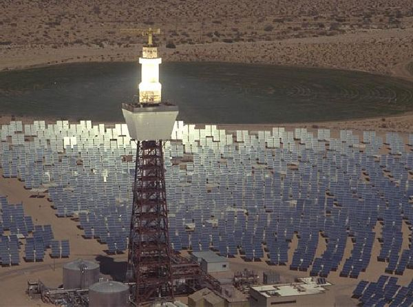 Massive New Solar Power Tower Set