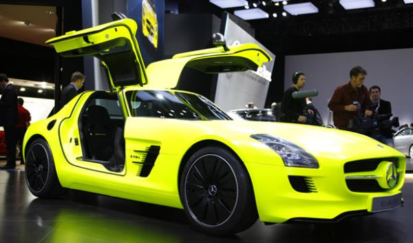 Mercedes-Benz  SLS AMG E-Cell Electric Sports Car