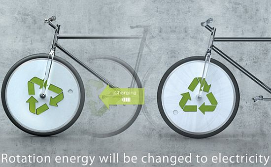 reenergy concept electricity generating bicycle 1