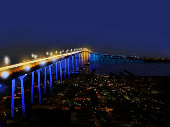san diego coronado bay bridges led lighting 3