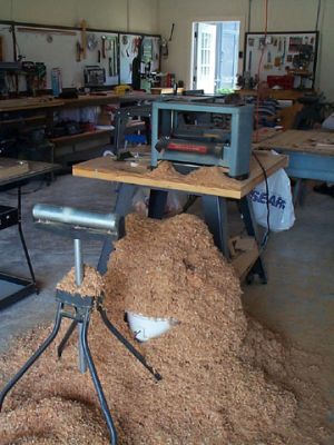 sawdust to produce electricity