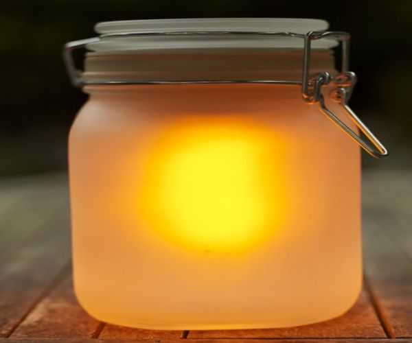 Sun Jar Garden Light
