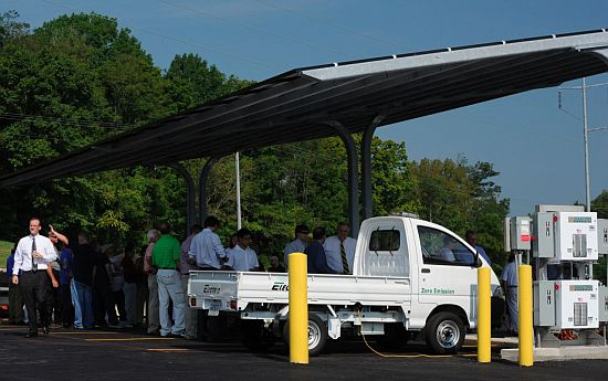 tennessee solar powered parking lot 2