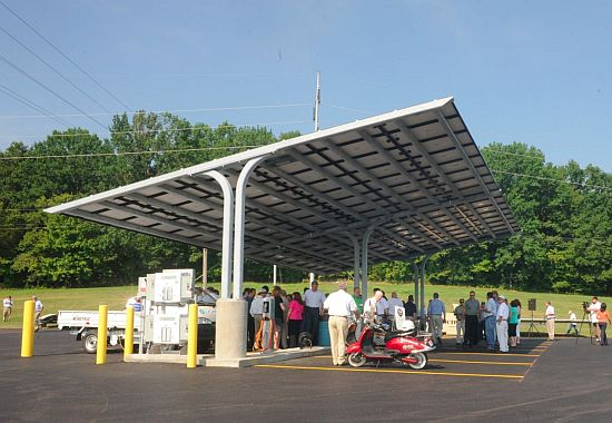 tennessee solar powered parking lot 3