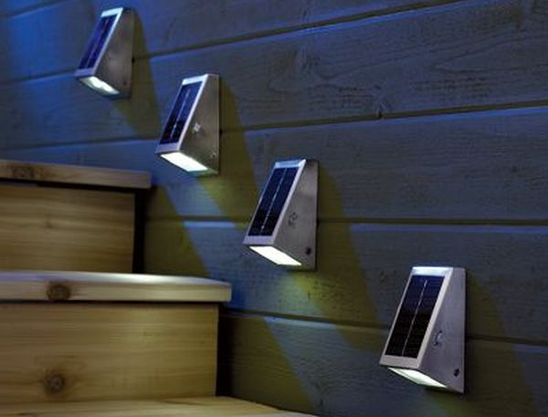 The Solar Stairway Light