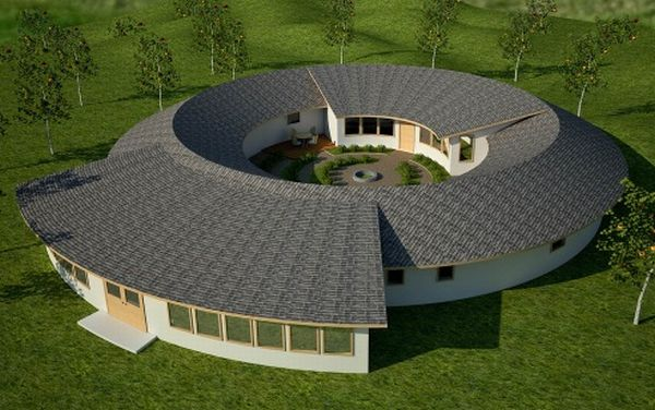 Torus Design concept house utilizes eco friendly E-Cat/LENR energy generation system
