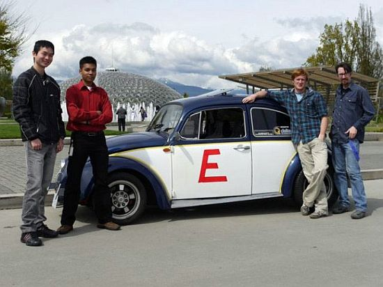 ubc students to drive across canada in an electric