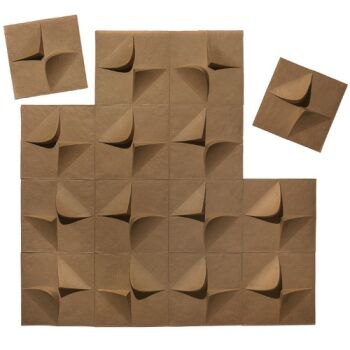 V2 3d Wallpaper Tiles Recyclable 3d Wallpaper Tiles Made Of 100 Recycled Paper