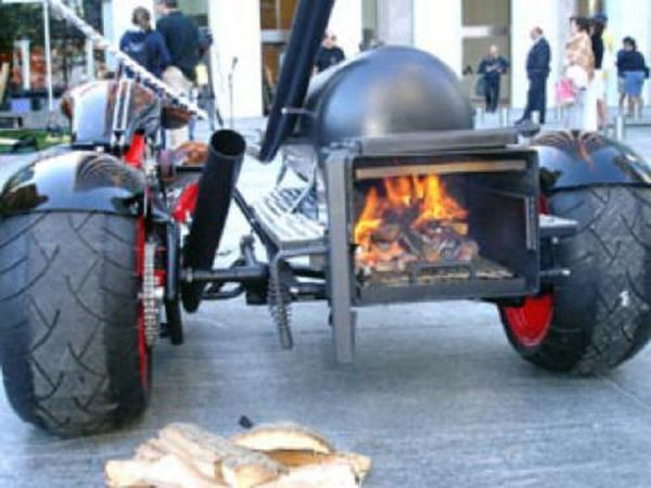 RUB Mobile Barbeque Pit