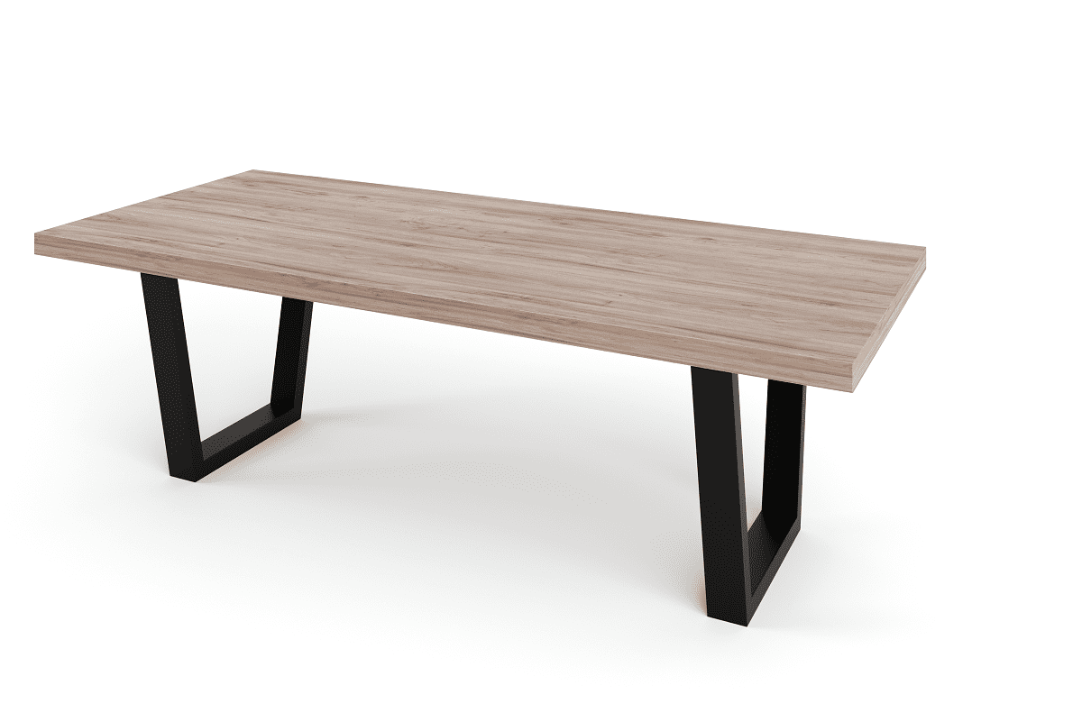 Wooden Tables For Sale Solid Timber Table Top On Steel Base Dining Tables For Sale
