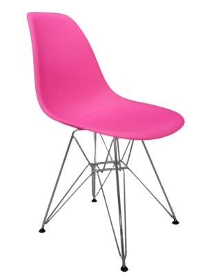 Pink Dsr Chair Hire Eames Style London Eco Furniture - Eames Chair London