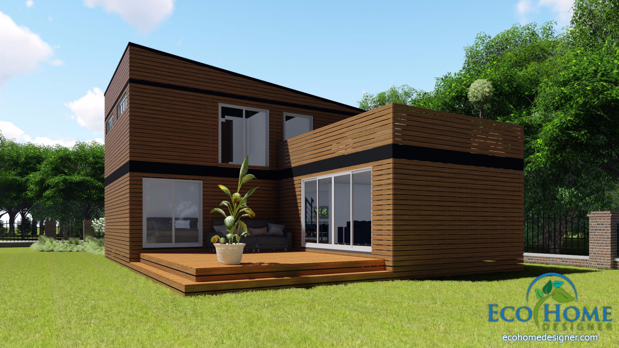 Sch17 10 X 20ft 2 Story Container Home Plans Eco Home