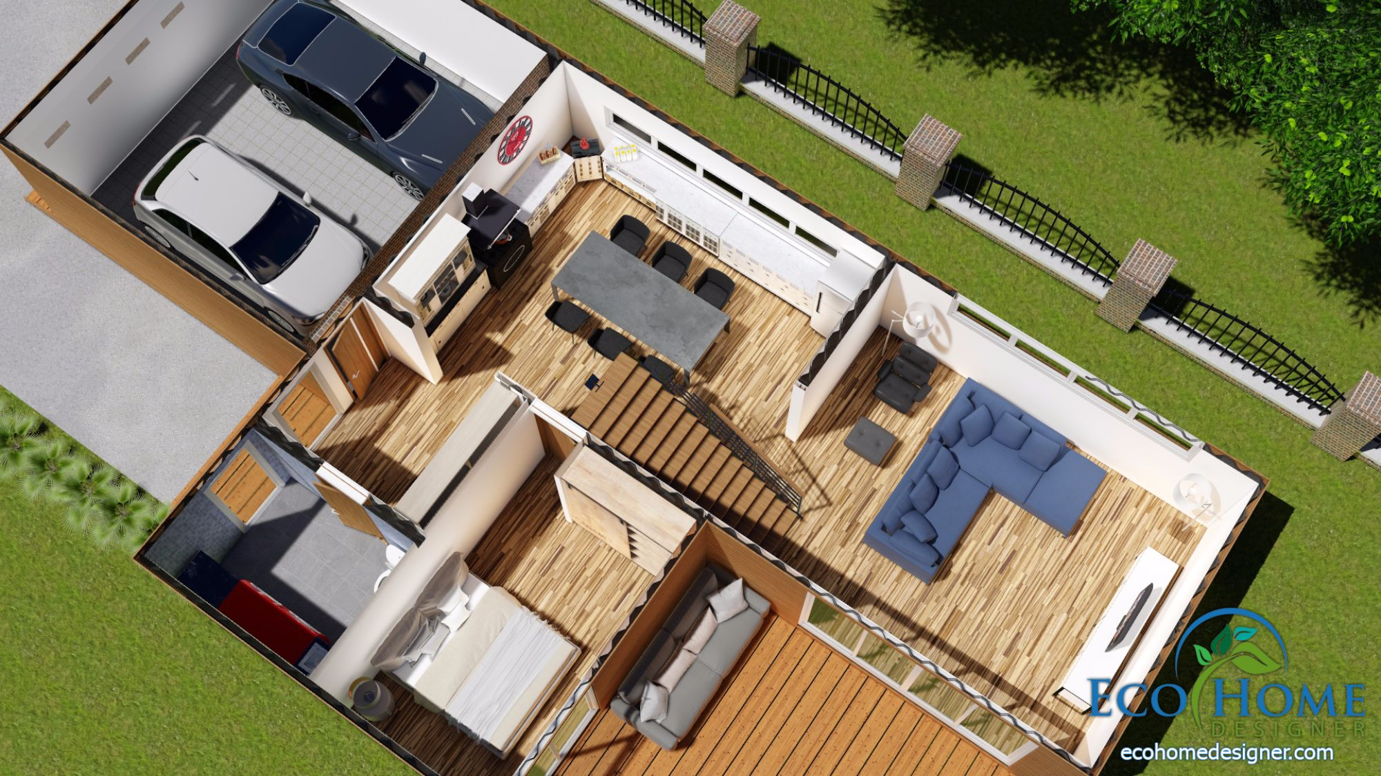Container Haus Plan Sch17 10 X 20ft 2 Story Container Home Plans Eco Home