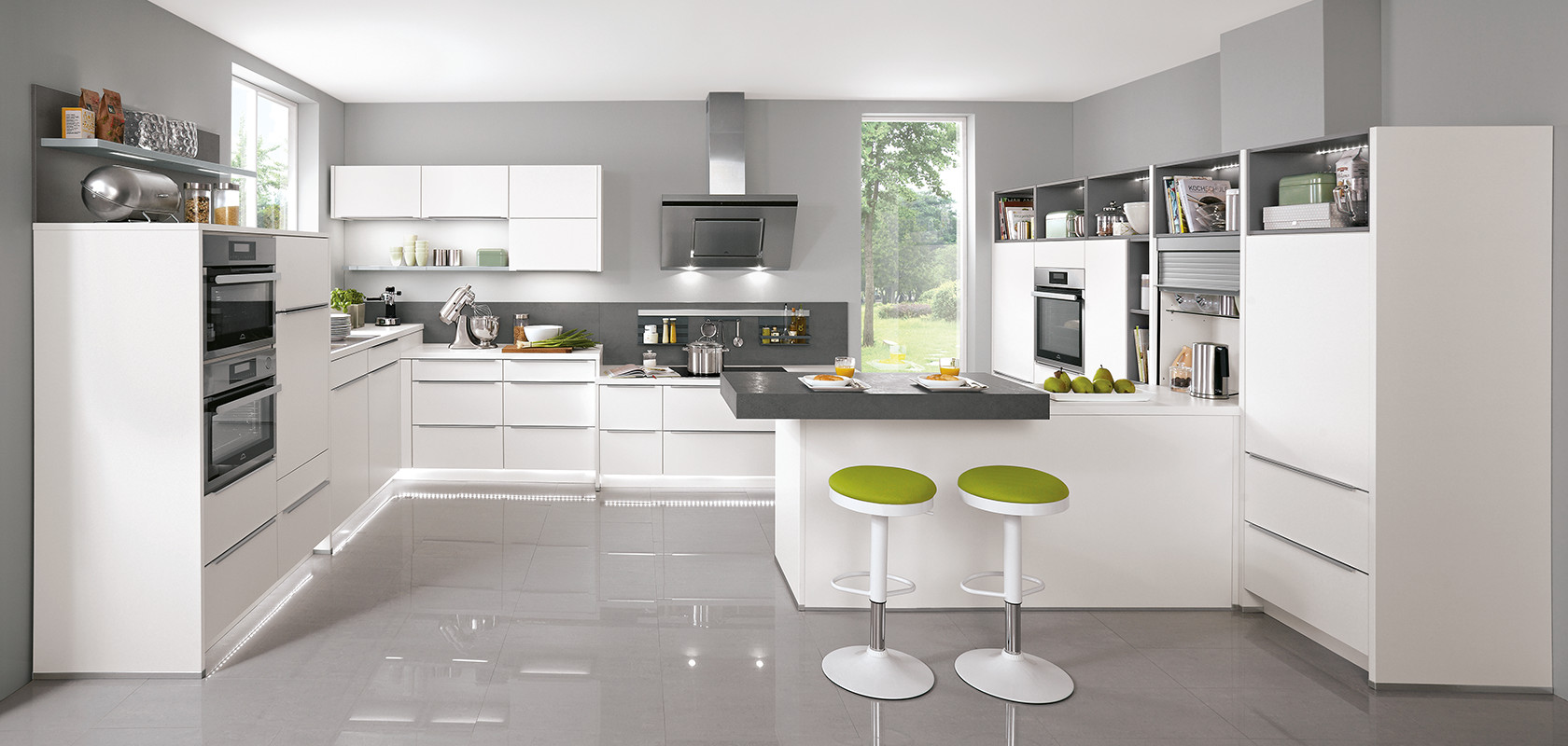 Nobilia Lux Line N Contemporary Kitchens Eco Interiors Winchester
