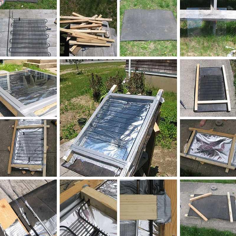 11 propuestas de calentadores solares caseros