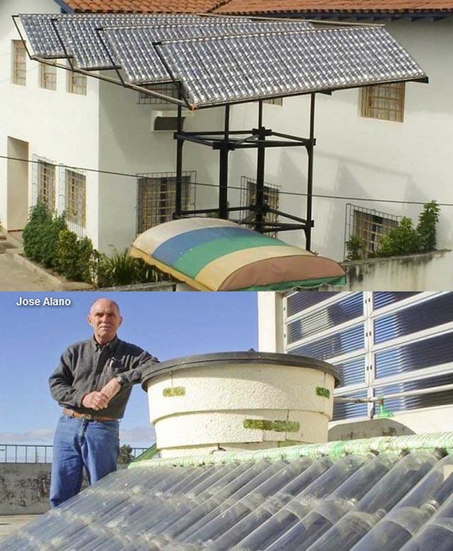 Calentador Solar Casero Made In Brasil