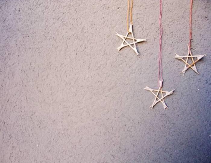 Estrellas con palillos