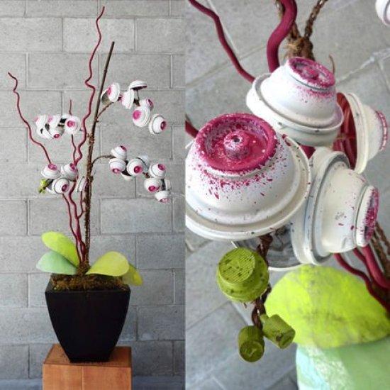 ramos de flores con aerosoles1