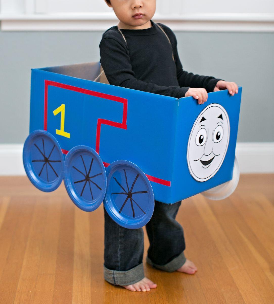 Disfraz de tren Thomas