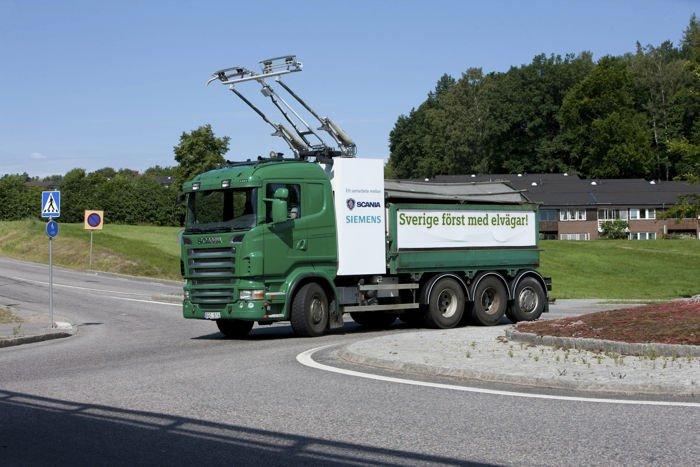 camión eléctrico 'cero emisiones' scania