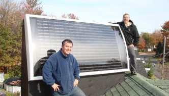 Como hacer una calefacción solar casera