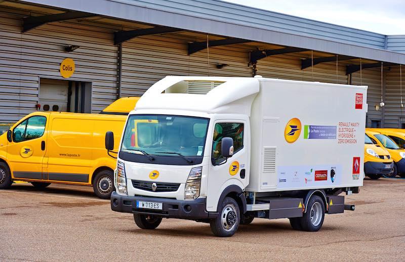 El primer camión de Europa con pila de combustible de hidrógeno2