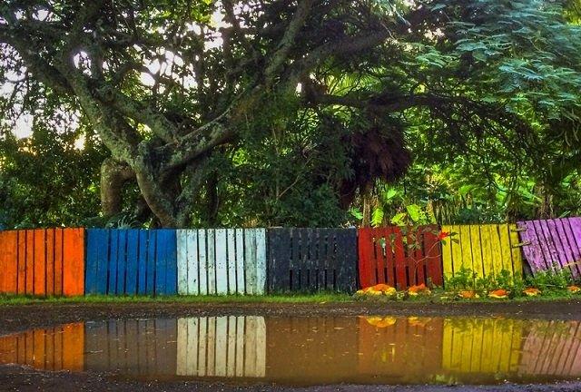16 formas de hacer vallas con palets - Vallas jardin baratas ...