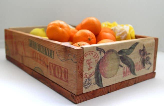 Cajas de frutas