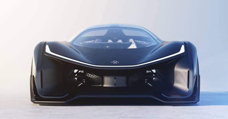 FFZERO1, el prototipo de coche eléctrico de Faraday Future con 1000 CV