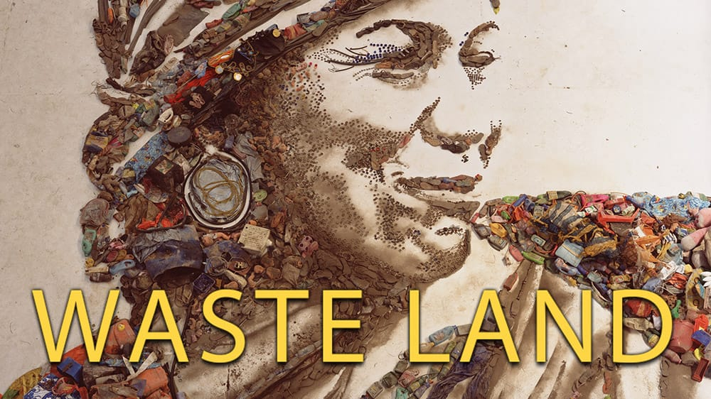 waste land The film begins with muniz returning to his family home in brazil, where he describes his humble beginnings and journeys to the jardim gramacho, the world's largest garbage dump on the outskirts.