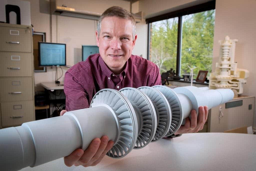 Una turbina del tamaño de un escritorio capaz de dar electricidad a 10.000 casas
