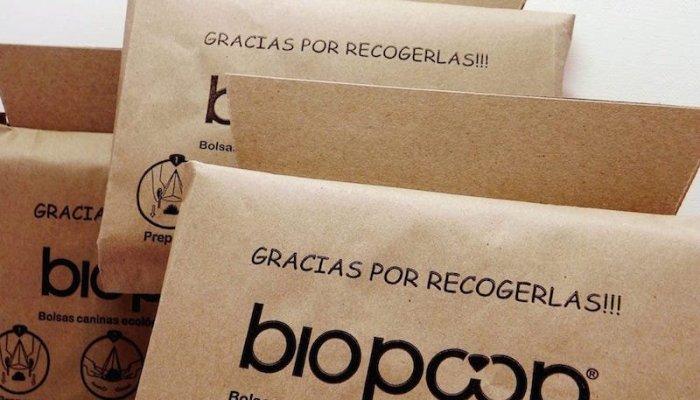 Biopoop, la bolsa para recoger las heces de tu mascota de forma ecológica