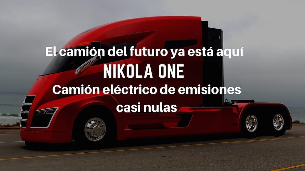 Nikola One, el camión eléctrico con más de 7.000 reservas