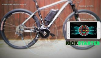 Bikee Bike, novedoso sistema para convertir tu bicicleta en eléctrica rápidamente