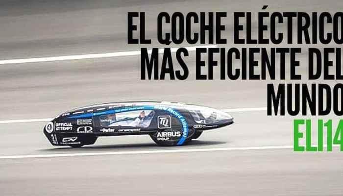 eLi14, el coche eléctrico más eficiente del mundo