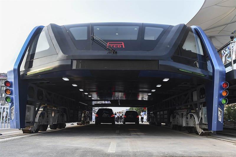 TEB Bus de transito elevado