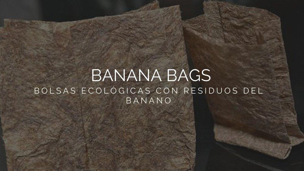 Banana Bags. Estudiantes colombianos crean Bolsas ecológicas con residuos del banano