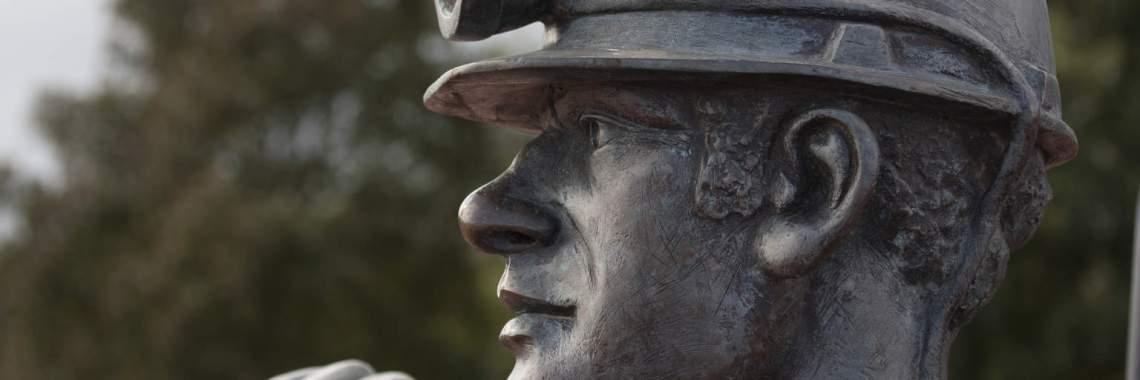 Coal Miner statue dreamstimr