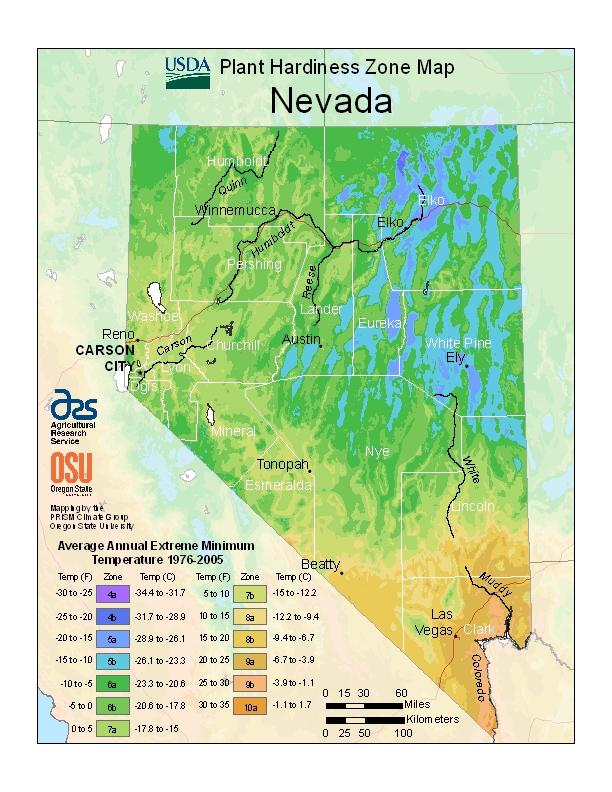 Hardiness Zone Map \u2013 Eco Lawn  Garden