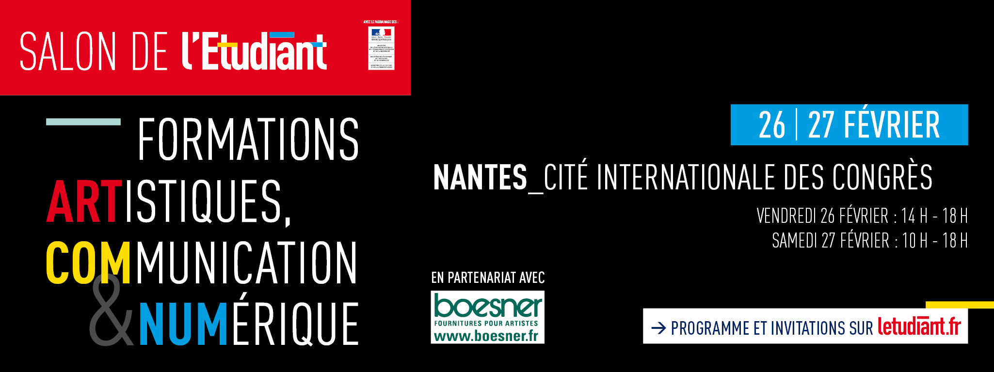 Salon étudiant Nantes 2016 Salon étudiant Nantes 2016