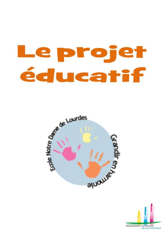 Projet éducatif 2015-2016