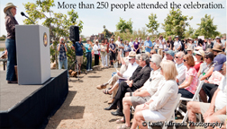 May 3, 2013, Grand Opening More than 250 people attended the celebration. (Click on the image to the left to see the slideshow. Then, click on your back button to return to this page and see another slideshow)