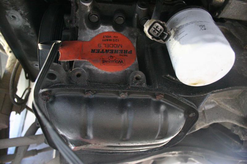 Toyota Engine Block Heater Wattage