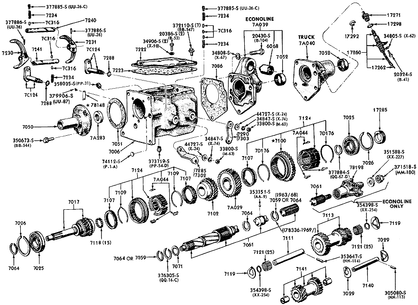 1964 ford truck automatic transmission
