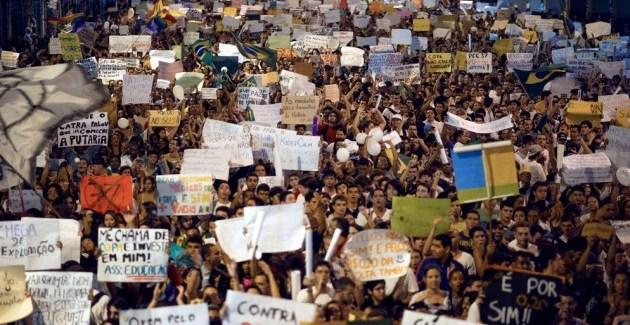 Brasil: A Copa das Manifestações