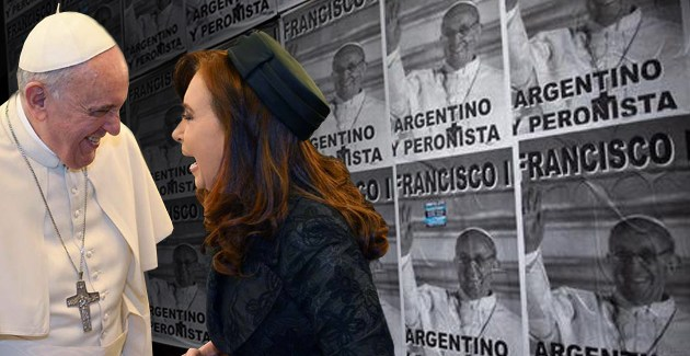 Resultado de imagen para PAPA FRANCISCO CRISTINA
